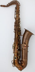 Musical Instruments:Horns & Wind Instruments, Circa 1924 Buescher True-Tone Low Pitch Brass Alto Saxophone, Serial Number #144038....