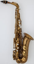 Musical Instruments:Horns & Wind Instruments, Circa 1953 Selmer SBA Brass Alto Saxophone, Serial Number #48949....
