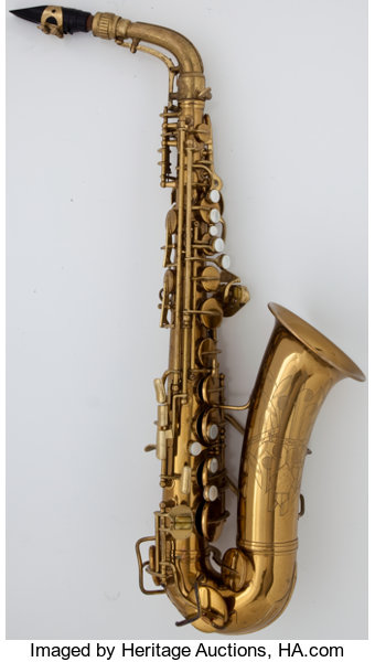 1941 Conn Naked Lady Brass Alto Saxophone, Serial Number | Lot