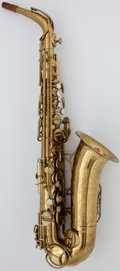 Musical Instruments:Horns & Wind Instruments, Circa 1948 The Martin Brass Alto Saxophone, Serial Number#167800....