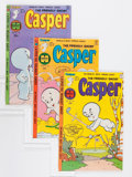 Bronze Age (1970-1979):Cartoon Character, Friendly Ghost Casper File Copy Group (Harvey, 1978-85) Condition:Average NM-.... (Total: 82 Comic Books)