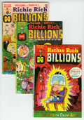 Bronze Age (1970-1979):Cartoon Character, Richie Rich Billions File Copy Group (Harvey, 1974-82) Condition:Average NM-.... (Total: 94 Comic Books)
