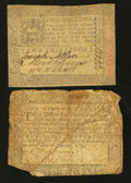 Colonial Notes:Maryland, Maryland and Pennsylvania.. ... (Total: 2 notes)