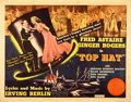 "Movie Posters:Musical, Top Hat (RKO, 1935). Half Sheet (22"" X 28"").. ..."