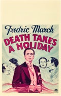 "Movie Posters:Horror, Death Takes a Holiday (Paramount, 1934). Window Card (14"" X 22"")....."