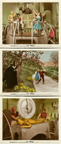 "Movie Posters:Fantasy, The Wizard of Oz (MGM, 1939). Color Glos Photos (3) (8"" X 10"")..... (Total: 3 Items)"