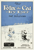 "Movie Posters:Animation, Felix the Cat in Icy Eyes (Educational, 1927). One Sheet (28.5"" X41"").. ..."