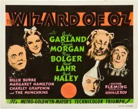"The Wizard of Oz (MGM, 1939). Color Glos Photo Title Card (8"" X 10"")"