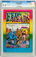 Silver Age (1956-1969):Alternative/Underground, Feds 'N Heads #1 Second Printing (The Print Mint,1969) CGC VF 8.0Off-white pages....
