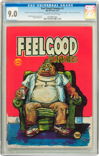 Feelgood Funnies #nn (#1) (Rip Off Press, 1972) CGC VF/NM 9.0 Off-white to white pages