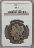 Morgan Dollars: , 1899 $1 AG3 NGC. NGC Census: (0/7437). PCGS Population (3/10164).Mintage: 330,846. Numismedia Wsl. Price for problem free ...