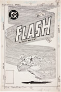 Original Comic Art:Covers, Carmine Infantino and Rodin Rodriguez The Flash #316 CoverOriginal Art (DC, 1982)....