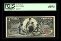 Large Size:Silver Certificates, Fr. 247 $2 1896 Silver Certificate PCGS Gem New 65PPQ. This $2Educational is hugely margined on the face with excellent col...