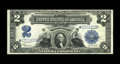 Large Size:Silver Certificates, Fr. 258 $2 1899 Mule Silver Certificate Star Note Fine-Very Fine.This is a wonderful discovery, as before the appearance of...