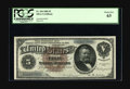 Large Size:Silver Certificates, Fr. 264 $5 1886 Silver Certificate PCGS Choice New 63. Ourconsignor notes that this piece is ex-Grinnell, and thatattribut...