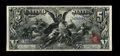 Large Size:Silver Certificates, Fr. 268 $5 1896 Silver Certificate Choice About New. This is a lovely $5 Educational that has a couple of pinches that keep ...