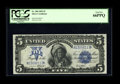 Large Size:Silver Certificates, Fr. 280 $5 1899 Mule Silver Certificate PCGS Gem New 66PPQ. All theright paper waves are in all the right places. The seria...