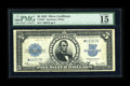 Large Size:Silver Certificates, Fr. 282 $5 1923 Silver Certificate Star Note PMG Choice Fine 15. Murray has been able to account for less than 45 Star Porth...