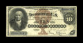Large Size:Silver Certificates, Fr. 287 $10 1880 Silver Certificate Extremely Fine. Well under 80examples of Fr. 287 are reported in all grades combined. T...