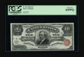 Large Size:Silver Certificates, Fr. 291 $10 1886 Silver Certificate PCGS Choice New 63PPQ. A veryrare note with only twenty pieces listed in the census. On...