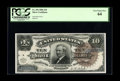 Large Size:Silver Certificates, Fr. 296 $10 1886 Silver Certificate PCGS Very Choice New 64. Offthe market since the early 1990s, this handsome Large Brown...