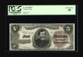 Large Size:Treasury Notes, Fr. 359 $5 1890 Treasury Note PCGS Extremely Fine 45. The featured portrait of Union General Thomas is perhaps the least rec...