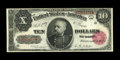 Large Size:Treasury Notes, Fr. 368 $10 1890 Treasury Note Fine+. A solid, problem-free example of this popular Early Back Treasury Ten. There never see...