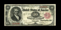 Large Size:Treasury Notes, Fr. 375 $20 1891 Treasury Note Very Fine. A nice circulated example of this scarce type, with good color and quite a handsom...