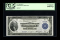 Fr. 708 $1 1918 Federal Reserve Bank Note PCGS Very Choice New 64PPQ. Another low serial number example of this issue is...