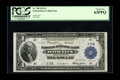 Fr. 708 $1 1918 Federal Reserve Bank Note PCGS Choice New 63PPQ. This newly reported specimen boasts serial number A76A...