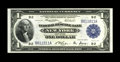 Fr. 711 $1 1918 Federal Reserve Bank Note Gem New. Vivid printing details and color are highlighted by a repeater serial...