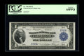 Fr. 718 $1 1918 Federal Reserve Bank Note PCGS Gem New 65PPQ. This three digit serial number D395A is particularly attra...