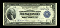 Fr. 718 $1 1918 Federal Reserve Bank Note Choice New. This is a pleasing, well embossed Cleveland Green Eagle