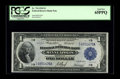 Fr. 734 $1 1918 Federal Reserve Bank Note PCGS Gem New 65PPQ. A bright, fresh, well-embossed example from the scarcer Mi...