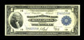 Fr. 735 $1 1918 Federal Reserve Bank Note Fine-Very Fine. The Teehee-Burke signature combination along with Cook and You...