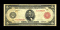 Large Size:Federal Reserve Notes, Fr. 842b $5 1914 Red Seal Federal Reserve Note Fine+. Solid margins surround this Dallas issue, which is relatively scarce. ...