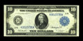 Large Size:Federal Reserve Notes, Fr. 946 $10 1914 Federal Reserve Note Very Fine. A pleasing example of this somewhat tougher Dallas issue....