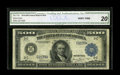 Fr. 1132-C $500 1918 Federal Reserve Note CGA Very Fine 20. This Friedberg number is represented by only three examples...