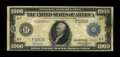 Fr. 1133-F $1000 1918 Federal Reserve Note Fine. This is one of the more common districts to collect, for those trying t...