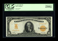 Large Size:Gold Certificates, Fr. 1167 $10 1907 Gold Certificate PCGS Superb Gem New 67PPQ. This is the first time this Friedberg number is being listed i...