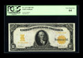 Large Size:Gold Certificates, Fr. 1171 $10 1907 Gold Certificate PCGS Very Choice New 64. A realbeauty, with huge margins, super print quality and ideal ...