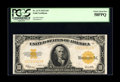 Large Size:Gold Certificates, Fr. 1173 $10 1922 Gold Certificate PCGS Choice About New 58PPQ.Plenty of original embossing is plainly visible through the ...