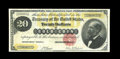 Large Size:Gold Certificates, Fr. 1178 $20 1882 Gold Certificate Very Fine-Extremely Fine. Immediately, this note faces up like a full EF, though a few to...