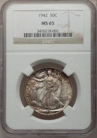 1942 50C MS65 NCS. NGC Census: (4671/2905). PCGS Population (6283/2685). Mintage: 47,839,120. Numismedia Wsl. Price for...