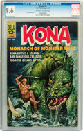 Silver Age (1956-1969):Adventure, Kona #6 (Dell, 1963) CGC NM+ 9.6 Off-white to white pages....