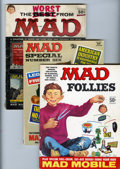 Magazines:Mad, Mad Annuals Short Box Group (EC, 1958-74) Condition: Average VG.... (Total: 42 Comic Books)