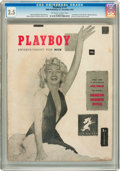 Magazines:Miscellaneous, Playboy #1 (HMH Publishing, 1953) CGC GD+ 2.5 Off-white to whitepages....