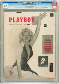 Playboy #1 (HMH Publishing, 1953) CGC GD+ 2.5 Off-white to white pages