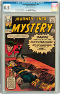 Silver Age (1956-1969):Superhero, Journey Into Mystery #91 (Marvel, 1963) CGC VF+ 8.5 Cream to off-white pages....