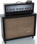 Musical Instruments:Amplifiers, PA, & Effects, 1960's Silvertone 1484 Guitar Amplifier, Serial Number #None....